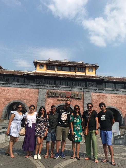 Private Taxi From Danang To Golden Bridge